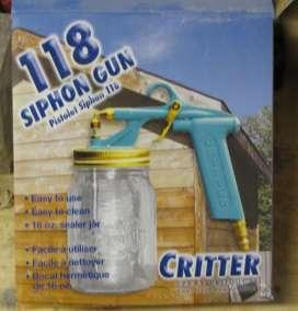 Pakaging for Critter Siphon Gun