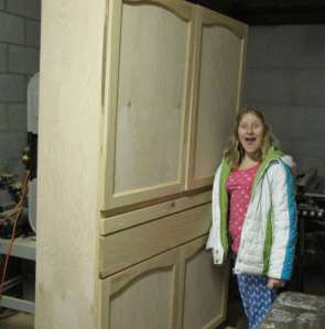 Unfinished Cupboard
