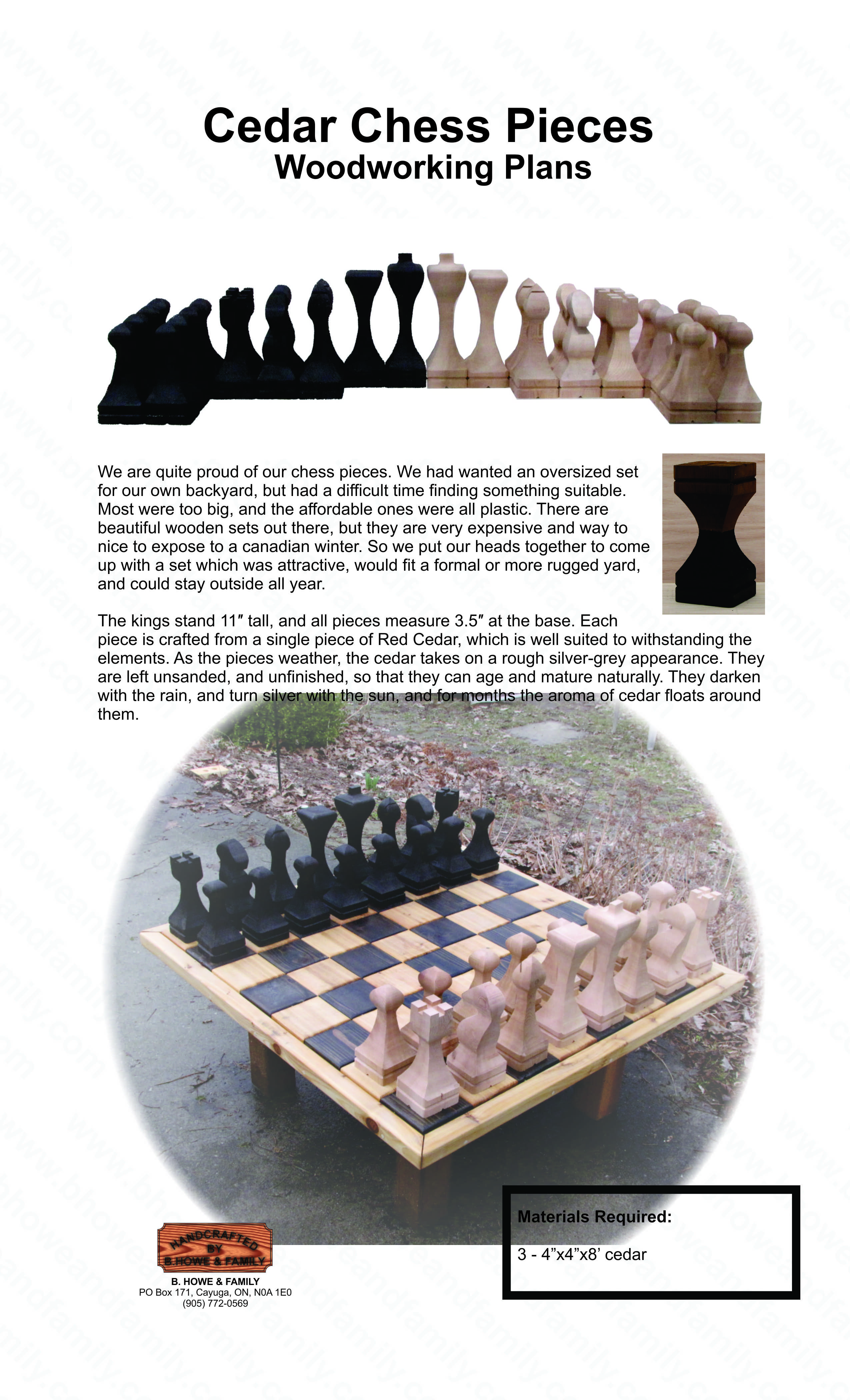 wood working plans to make box for chess pieces