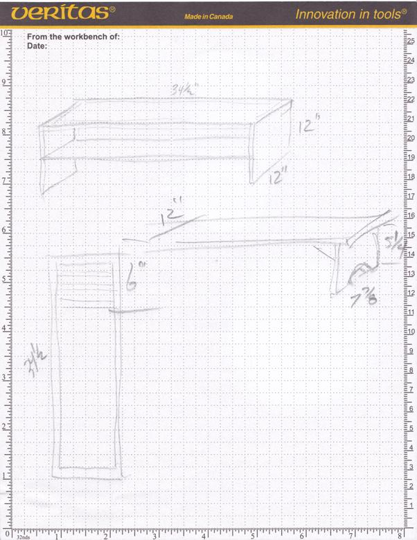 shoe rack plans and measurement