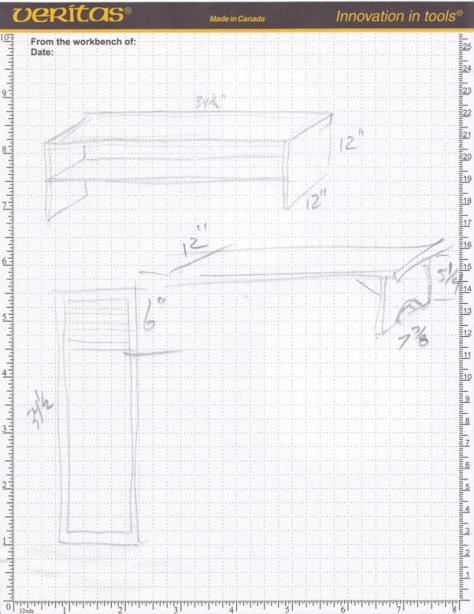 plans a shoe rack